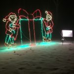 Elves with Presents - Holiday Lights at Lindenwood Park Fargo ND