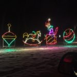 Four Toys - Holiday Lights at Lindenwood Park Fargo ND