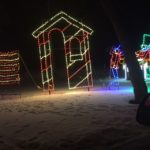 Guard House - Holiday Lights at Lindenwood Park Fargo ND