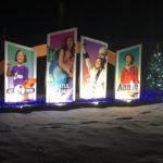 Trollwood - Holiday Lights at Lindenwood Park Fargo ND