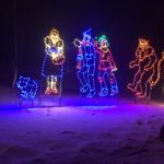 Wizard of Oz - Holiday Lights at Lindenwood Park Fargo ND